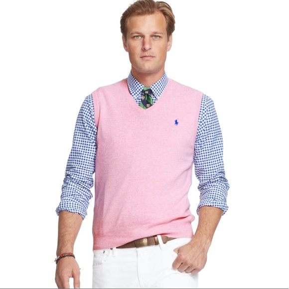 Polo By Ralph Lauren Sweaters Nwt Polo Ralph Lauren Pink Sweater